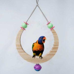 Vogel-Schaukel, Vogelspielzeug, Mond