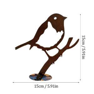 Garten Figur Vogel Rost