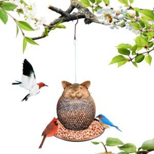 Gartenvögel katzensicher füttern