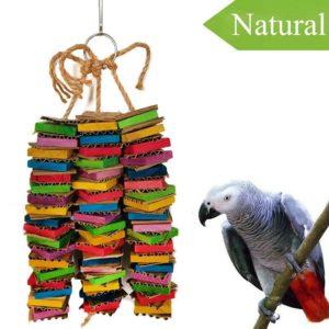 NatürlichesPapageien Spielzeug