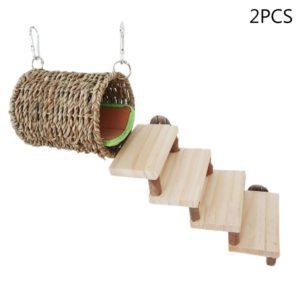 Treppe und Häuschen für Hamster