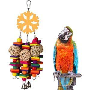 Spielzeug für große Papageien