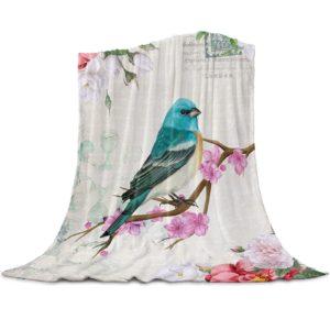 Wohndecke Blauer Vogel