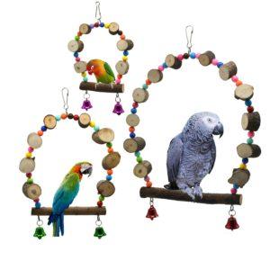 Papageien Schaukel Bogen