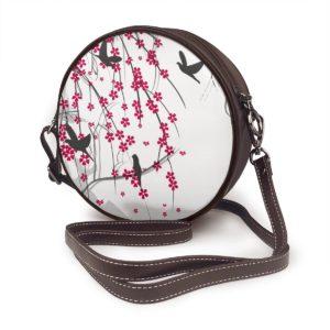 Runde Damentasche Japan