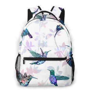 Weißer Damen Rucksack Kolibri