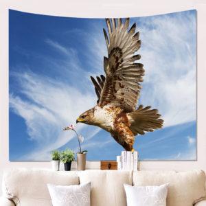 Adler im Flug Wand Deko